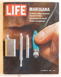 Bad, Definitely, and Future: LIFE  MARIJUANA  At least 12 million Americans  have now tried it  Are penalties too severe?  Should it be legalized?  OCTOqER di . 1969 . 40 Past, meet the future. From extract to flower, @LinxVapor's innovative and award winning line up of health conscious vaporizers are free of glues, dyes and other toxic chemicals, providing pure flavor- without any of the bad stuff. Time's are definitely changing- Do you live in a legal state? (Head over to Linxvapor.com to find a vaporizer that's just right for you.)