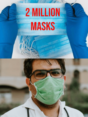 lifepro-tips: 2 Million Masks for Hospitals Fund: lifepro-tips: 2 Million Masks for Hospitals Fund