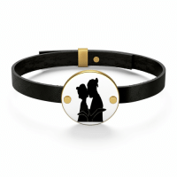 Love, Tumblr, and Blog: lifepro-tips: Leather Bracelet Real Love Kissing