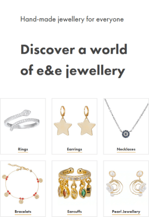 lifepro-tips: Webshop: https://eandejewellery.comAbout:The idea for e&e was born in Notting Hill London. After  finding an extreme interest in our jewellery collection there, we  decided to expand our business with our personalised jewellery  collection.All our fine jewellery is hand made in Istanbul Turkey. We  provide a beautiful range of hand made rings, earrings, bracelets and  necklaces which are perfect for every day wear and also make the perfect  gift for your loved ones.Our goal is to make your special days even more special with  our hand made jewellery collection and our customers satisfaction is  very important to us.: lifepro-tips: Webshop: https://eandejewellery.comAbout:The idea for e&e was born in Notting Hill London. After  finding an extreme interest in our jewellery collection there, we  decided to expand our business with our personalised jewellery  collection.All our fine jewellery is hand made in Istanbul Turkey. We  provide a beautiful range of hand made rings, earrings, bracelets and  necklaces which are perfect for every day wear and also make the perfect  gift for your loved ones.Our goal is to make your special days even more special with  our hand made jewellery collection and our customers satisfaction is  very important to us.