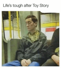 Toy Story: Life's tough after Toy Story