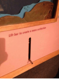 MeIRL, Create A, and Create: Lift bar to create a mass extinction meirl