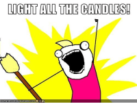 """Episcopal Church Memes beat us to the punch in posting this! I had this in my """"Meme Inventory"""" to post tomorrow, but since they posted a very similar one, I figured we should post ours as well!: LIGHT ALL THE CANDLES!  CRNHRSCHEE2EEUARGER.COM Episcopal Church Memes beat us to the punch in posting this! I had this in my """"Meme Inventory"""" to post tomorrow, but since they posted a very similar one, I figured we should post ours as well!"""