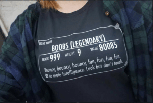 The best Light Armor: LIGHT ARMOR  BOOBS (LEGENDARY)  999  80085  ARMOR  VALUE  WEIGHT  Bouncy, bouncy, bouncy, fun, fun, fun, fun  50 to male intelligence. Look but don't touch. The best Light Armor