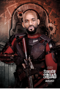 @9000x Will Smith como El Tío Phil: LIGHT, THE  WILL SMITH AS  DEAD SHOT  SUICIDE  SQUAD  AUGUST  SEE IN 3D  iSuicideSquad @9000x Will Smith como El Tío Phil