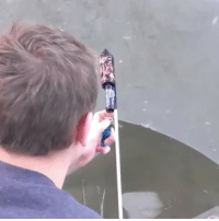 Friends, Frozen, and Memes: Lighting a firework under a frozen pond! Tag friends! @chillino craziestvids @chillino