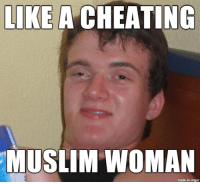 a cheating woman