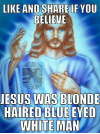 Type AMEN if you believes!!!  Christians for Michele Bachmann The Tri-County Public Reposity Of Redirection: LIKE AND SHARE IF YOU  BELIEVE  JESUS WAS BLONDE  HAIRED BLUE EYED  WHITE MAN Type AMEN if you believes!!!  Christians for Michele Bachmann The Tri-County Public Reposity Of Redirection