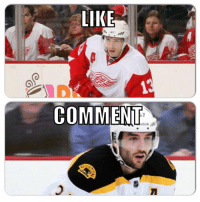 Hockey, Run, and Player: LIKE  COMMENT  etokili First to 3k: Player Edition 4/10 rounds.  Will Datsyuk go on a run?  Like for Datsyuk Comment for Bergeron   -winch