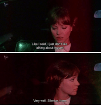 Tumblr, Blog, and Http: Like I said, I just don't like  talking about mysef   Very well. Silence, then nadi-kon:Pierrot le Fou (1965) dir. Jean-Luc Godard