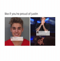 like if you're proud of justin  thanks for belowing nimo.  will always be there? @pubertyhit.s is Justin Bieber but don't tell him that I told you
