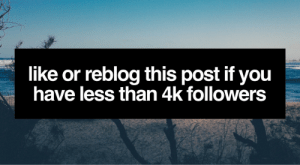 Tumblr, Blog, and Help: like or reblog this post if you  have less than 4k followers thegoodvybe:  i'll shoutout 10 tumblr's to my +998,000 followers but first: you must help me with ⇛ this ⇚ (i check)   WARNING: PLZ Only like this post if you did // I will shoutout ONLY those WHO HELPED