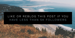Tumblr, Blog, and Help: LIKE OR REBLOG THIS POST IF YOU  HAVE LESS THAN 5K FOLLOWERS thegoodvybe: i'll promote/shoutout ALL YOU to my +999,000 followers but first: you must help me with ⇛ this ⇚ (i check) WARNING: PLZ Only like this post if you helped⤴