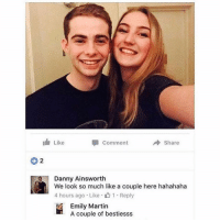 Fxck you Emily what kind of friendship friendzone is this 😩😂 galdembanter dt @itsshenell uberCode:SHENG6: Like  Share  Comment  Danny Ainsworth  We look so much like a couple here hahahaha  4 hours ago Like 1 Reply  Emily Martin  A couple of bestiesss Fxck you Emily what kind of friendship friendzone is this 😩😂 galdembanter dt @itsshenell uberCode:SHENG6