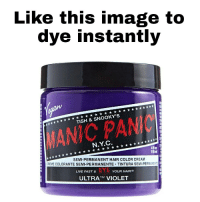 how to get manic panic out of hair fast