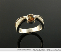 """<p>Golden Snitch Engagement Ring <a href=""""http://memes.mugglenet.com/Harry+Potter+Funny+Pics/Golden-Snitch-Engagement-Ring/7139"""">http://memes.mugglenet.com/Harry+Potter+Funny+Pics/Golden-Snitch-Engagement-Ring/7139</a></p>: Like this? You'll hate  MUGGLENET MEMES.COM <p>Golden Snitch Engagement Ring <a href=""""http://memes.mugglenet.com/Harry+Potter+Funny+Pics/Golden-Snitch-Engagement-Ring/7139"""">http://memes.mugglenet.com/Harry+Potter+Funny+Pics/Golden-Snitch-Engagement-Ring/7139</a></p>"""