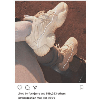 Memes, Wshh, and 🤖: Liked by fuckjerry and 519,293 others  kimkardashian Mud Rat 500's KimKardashian showing off the 'Mud Rat 500's' 🔥 or 💩?! @kimkardashian WSHH