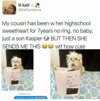 😂😂😂lmao - - - - - - - 420 memesdaily Relatable dank MarchMadness HoodJokes Hilarious Comedy HoodHumor ZeroChill Jokes Funny KanyeWest KimKardashian litasf KylieJenner JustinBieber Squad Crazy Omg Accurate Kardashians Epic bieber Weed TagSomeone hiphop trump rap drake: lil kait  @kaitlynserna  My cousin has been w her highschool  sweetheart for 7years no ring, no baby,  just a son Kasper  BUT THEN SHE  SENDS ME THIS  (ta wtf how cute  How to  be  How to  BROTHER  be  a  Ble  BROTHER  Yesterday 5:11 PM 😂😂😂lmao - - - - - - - 420 memesdaily Relatable dank MarchMadness HoodJokes Hilarious Comedy HoodHumor ZeroChill Jokes Funny KanyeWest KimKardashian litasf KylieJenner JustinBieber Squad Crazy Omg Accurate Kardashians Epic bieber Weed TagSomeone hiphop trump rap drake