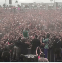 Lit, Lil, and Crowd: Lil Pump had the crowd lit out at Rolling Loud! 🎤🔥💯 @LilPump https://t.co/GJmOIBuvmq
