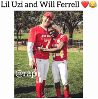 Memes, Will Ferrell, and 🤖: Lil Uzi and Will Ferrell  PROO  D BO  ara At first glance it looks like them 😂😂😂 liluzivert willferrell