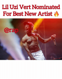 "@rap: ""@liluzivert is nominated for Best New Artist at 2018 Grammy Awards."" Y'all think he's gonna win ? He's had a pretty good year. Comment ⬇️: Lil Uzi Vert Nominated  For Best New Artist  7A  @rap @rap: ""@liluzivert is nominated for Best New Artist at 2018 Grammy Awards."" Y'all think he's gonna win ? He's had a pretty good year. Comment ⬇️"