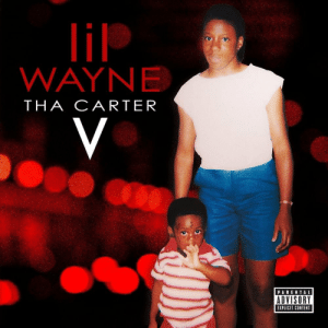 "1 year ago today, Lil Wayne released 'The Carter V' featuring the tracks ""Mona Lisa"", ""Let It Fly"", and ""Uproar"". Comment your favorite song off this album below! ??? @LilTunechi https://t.co/IkRLYqfNKk: lil  WAYNE  THA CARTER  V  PARENTAL  ADVISORY  EXPLICIT CONTENT 1 year ago today, Lil Wayne released 'The Carter V' featuring the tracks ""Mona Lisa"", ""Let It Fly"", and ""Uproar"". Comment your favorite song off this album below! ??? @LilTunechi https://t.co/IkRLYqfNKk"