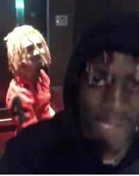 Memes, Music, and Wshh: LilPump & LilYachty cookin' up some new music in the studio w- @adam22 👀🔥 @lilpump @lilyachty WSHH