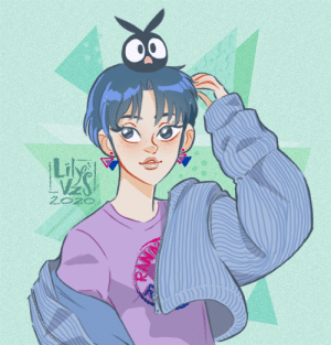 lilyvzs:  Hey! Still alive here!Bet you didn't know I was a Ranma ½ fan! Hahaa. Anyway, I saw this cute photo somewhere in the internet and decided to try the outfit on her, and also the cartoony style… then I felt like she needed a bit of a nod to show her bi nature, which is CANON btw.Enjoy!: lilyvzs:  Hey! Still alive here!Bet you didn't know I was a Ranma ½ fan! Hahaa. Anyway, I saw this cute photo somewhere in the internet and decided to try the outfit on her, and also the cartoony style… then I felt like she needed a bit of a nod to show her bi nature, which is CANON btw.Enjoy!