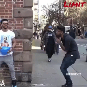 """Funny, Prank, and Shit: LIMIT  @ITSBIZKIT adls-xxx:  igotyourfav:  melaninmedicine:  prettyboyshyflizzy:  nynymisfit:  okayysophia:  sonoanthony:Now this is a funny prank I'm the lady with the stick  """"Oh shit yo. Niggas out here dying and shit yo"""" 😂😂😂I'm weakkkk  Niggas snap everything 😭😭😭😭  I'm the woman with the cane at the end  😂😂😂  NYC man 😭😭😭"""