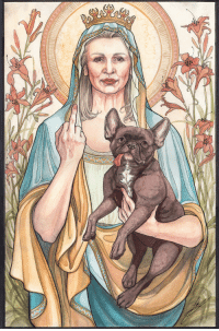 """lindsayvanek:  My latest piece: Our Blessed Rebel Queen, Carrie Fisher done in watercolour and ink. Carrie Fisher has always been a great inspiration to me. As someone who suffers from depression and anxiety, I wanted to create a piece to bring me and comfort and strength. To look upon Space Mom and say""""yes, I can face today."""" prints available:https://society6.com/product/our-blessed-rebel-queen-carrie-fisher_print facebook:https://www.facebook.com/lindsayvanekart/ : lindsayvanek:  My latest piece: Our Blessed Rebel Queen, Carrie Fisher done in watercolour and ink. Carrie Fisher has always been a great inspiration to me. As someone who suffers from depression and anxiety, I wanted to create a piece to bring me and comfort and strength. To look upon Space Mom and say""""yes, I can face today."""" prints available:https://society6.com/product/our-blessed-rebel-queen-carrie-fisher_print facebook:https://www.facebook.com/lindsayvanekart/"""