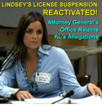 "Boxing, Desperate, and Hockey: LINDSEY'S LICENSE SUSPENSION!  REACTIVATED!  Attorney Generals  Office Rejects  KL's Allegations LINDSEY'S LICENSE SUSPENSION REACTIVATED, ASSISTANT ATTORNEY GENERAL REJECTS ALLEGATIONS IN LATEST LAWSUIT Case Update from Tiger's Justice Team  TJT recently reported that on November 8, 2016, the Texas Board of Veterinary Medical Examiners denied Kristen Lindsey's request to have her licensing case reheard before the Board. We're very pleased to confirm that the Board has reactivated Lindsey's license suspension. Lindsey CAN NOT currently practice as a veterinarian!  Also on November 8, Lindsey's attorney Brian Bishop filed another lawsuit with Travis County District Court against the Board: ""PETITION FOR JUDICIAL REVIEW OF ADMINISTRATIVE AGENCY FINAL ORDER, AND APPLICATION FOR INJUNCTIVE RELIEF."" Bishop's latest waste of paper contains 49 pages of the same redundant malarkey we've endured for over a year. In a desperate attempt to forestall Lindsey's license suspension, Bishop also requested a Temporary Restraining Order and Temporary Injunction against the Board.   We (and the courts) have seen this all before: the ""feral cat"" nonsense, Lindsey's valiant defense of her pets and livestock against a free-roaming feline menace, the buck-passing excuse that Lindsey's employer instructed her to kill the cat, Bishop's ludicrous denial that Lindsey killed Tiger without his owners' consent, the ridiculous assertion that the Board lacks jurisdiction and authority to sanction Lindsey, the ""irreparable harm"" the Board is inflicting on poor Doc Krissy's career, etc.   Many of Tiger's supporters have plowed through volumes of tedious documents filed by Bishop on Lindsey's behalf. We're all sick of Lindsey's litigious litter box, and it appears that the Texas Attorney General's office is fed up, too. Assistant AG Ted Ross's response is refreshingly brief and to the point. Three sentences were all Ross needed to address Kristen Lindsey's most recent load of horse hockey. In a terse response document, ""DEFENDANT'S ORIGINAL ANSWER AND GENERAL DENIAL,"" Ross stated:  ""Defendant denies each and every allegation in Plaintiff's ""Petition for Judicial Review of Administrative Agency Final Order, and Application for Injunctive Relief,"" and demands strict proof thereof.  Defendant respectfully requests this court to issue a judgment denying all of Plaintiff's requested relief in this proceeding.   Defendant further requests that all court costs be taxed and adjudged against Plaintiff, a for such other relief to which it may justly be entitled.""  Well said! Unlike some attorneys, Ross is not one to mince words, or to squander them on endless diatribes. The last time Team Lindsey brought a lawsuit against the Board before this court, the judge summarily denied their arguments and sent them packing In an unequivocal smackdown by Ross. The same judge has been assigned to this case. While we can't predict the outcome, so far Ross has represented the vet board with authority and conviction.   Bishop has appealed Lindsey's previous Travis County lawsuit in the Texas 3rd Court of Appeals. We expect further developments with that case in the very near future. Lindsey also has another upcoming court appearance in her criminal DWI case. TJT is keeping tabs on all dates in Lindsey's legal calendar, and will update Tiger's supporters whenever new information becomes available. We remain deeply grateful to everyone who shares our interest in this landmark animal cruelty case."