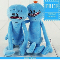 Memes, Free, and Link: LINK IN BIO  FREE  JUST PAY  SHIPPING ** I'm Mr MeeSeeks Look I'm FREE! ** For The Next Few Hours These Plushies Are $0!!! (Just Pay Shipping) Tag A Friend And Get Yours Now! Only While Stocks Last, Link In Bio 👉@rickmortymemes