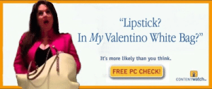 """tayyyisgayyy: tayyyisgayyy:  this has probably been done before but whatever  this was hilarious, peak comedy, and you all slept on it, : """"Lipstick?  In My Valentino White Bag?""""  02  It's more likely than you think.  FREE PC CHECK!  CONTENTwatch tayyyisgayyy: tayyyisgayyy:  this has probably been done before but whatever  this was hilarious, peak comedy, and you all slept on it,"""