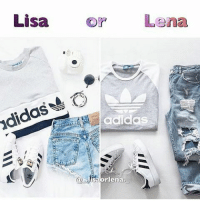 0ee7f4e8d973f Memes, 🤖, and Lisa: Lisa or Lena didas兽。 adidas A95 rlena