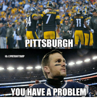 LISBERGE  PITTSBURGH  IG:@PATRIOTSVIP  YOU HAVE A PROBLEM The Pittsburgh Steelers will face the Patriots in the AFC Championship! This game is going to be LIT! 🔥