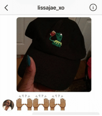 "Shoutout to @lissajae_xo who got her Kermit ""Tea"" Dad Hat ☕️🐸 ALMOST SOLD OUT, $15 FREE SHIPPING(Except For International) DM NOW To Own Your Own Kermit Dad Hat ☕️🐸: lissajae xo  A PA A VA  A PA Shoutout to @lissajae_xo who got her Kermit ""Tea"" Dad Hat ☕️🐸 ALMOST SOLD OUT, $15 FREE SHIPPING(Except For International) DM NOW To Own Your Own Kermit Dad Hat ☕️🐸"