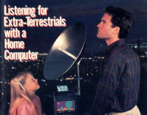 Tumblr, Blog, and Computer: Listening for  Extra-Terrestrials  with a  Home  Computer artfromthefuture:  cyberianpunks: Atari Connection | 1983 GPOY