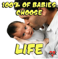 Memes, Baby, and 🤖: LITE  NPLA You will be hard pressed to find a baby who would rather be aborted!
