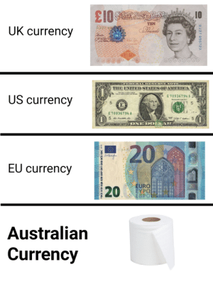 Literal shit-tier currency.: Literal shit-tier currency.