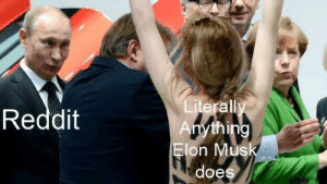 it really do be like that: Literally  Anything  Elon Musk  Reddit  does it really do be like that