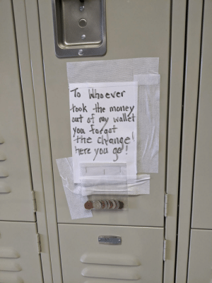 Little bit of drama in the nurse's locker room.: Little bit of drama in the nurse's locker room.