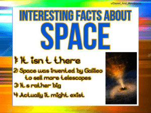 Little known facts about space https://t.co/XjeJoKCSCs: Little known facts about space https://t.co/XjeJoKCSCs