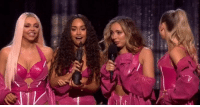 Memes, Home, and Little Mix: Little Mix take home the Award for British Video Of The Year at the BRITs