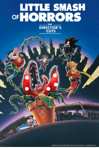 smashing: LITTLE SMASH  oFHORRORS  THE  DIRECTOR'S  CUTS  BUSUK  Little Shop of Horrors 01986, 02017 Warner Bros. Entertainment, Inc. All Rights Reserved.