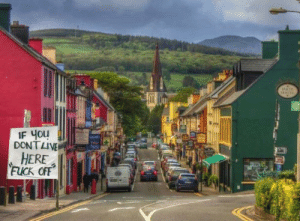 Little town in Ireland for Easter break: Little town in Ireland for Easter break