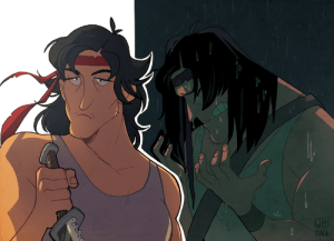 littledozerdraws:  probably never shared these here?? sweet old Rambo art from 2015!: littledozerdraws:  probably never shared these here?? sweet old Rambo art from 2015!