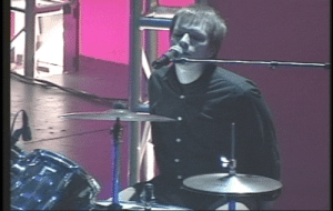 littledrummerjoey:a 17/18 year old patrick drumming and doing backing vocals for a jazz performance at his high school: littledrummerjoey:a 17/18 year old patrick drumming and doing backing vocals for a jazz performance at his high school