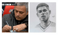 Memes, DirecTV, and Liverpool F.C.: LIV  9:56  DIRECTV So that's what Mourinho was furiously writing this weekend 👏😂⚽️ Rashford United Liverpool Mourinho Notes Artist