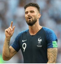 Olivier Giroud at World Cup 2018.  Games played and started: 7  Position: Striker  Shots on goal: 0  Goals: 0  World Cup winner https://t.co/IlWQlZHini: LIV  FRANCE-ARGENTINE  30 JUIN 2018 Olivier Giroud at World Cup 2018.  Games played and started: 7  Position: Striker  Shots on goal: 0  Goals: 0  World Cup winner https://t.co/IlWQlZHini