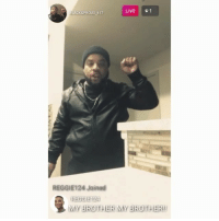 Memes, Reggie, and Worldstar: LIVE | | 1  BLACK&PROUD 617  cge  REGGIE124 Joined  REGGIE 124  MY BROTHER MY BROTHER BlackPanther got dudes out here like... 😩😂✊ @reedobrown @theallamericanbadgirl @worldstar WSHH